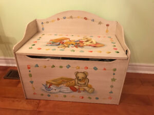 Children's Storage Chest/Bench