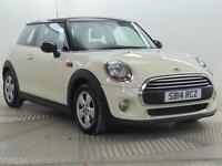 2014 MINI Hatch COOPER Petrol white Manual