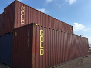 USED and NEW ONE-TRIP Shipping Containers/Seacans for SALE