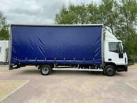 Iveco Eurocargo 75E16s 4.5 160bhp CURTAIN SIDE 7.5 TRUCK- TAIL LIFT - EURO 6