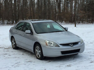 2003 Honda Accord EX 4 Cyl Leather 5 Speed Manual