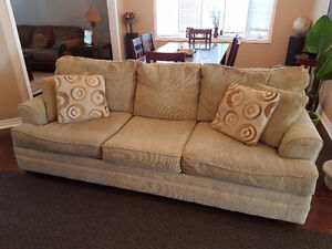 Ashley Sofa (Love Seat and Couch - 3 seat) - $250 OBO