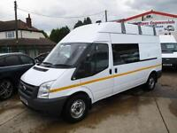 10 reg FORD TRANSIT LWB 115 bhp, MESS UNIT, MESSING, CREW, WELFARE TOILET VAN