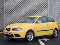 2008 SEAT IBZA 1.9TDI Sport3DR HATCH - OVER65+MPG !!