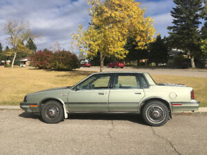 1986 Oldsmobile Cutlass Ciera Sedan LOW KM