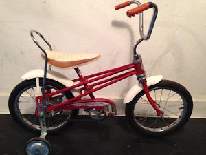 retro vintage kids bike velo enfant roues 16''