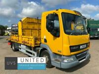 DAF TRUCKS LF45 160 2011 61 12 ton flatbed dropside manual gearbox