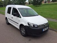 VW CADDY CREW VAN 2013 1.6Tdi BLUEMOTION NO VAT 1 OWNER CRUISE CONTROL