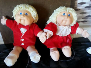 Twin Cabbage Patch Dolls  SOLD PPU