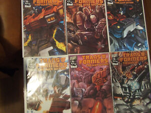 Transformers The War Within #0-6 Kitchener / Waterloo Kitchener Area image 1