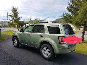 2007 Ford Escape Green SUV, Crossover