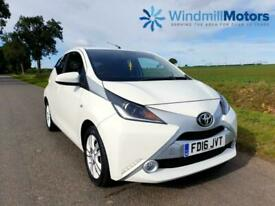 image for Toyota Aygo 1.0 VVT-i x-pure 5dr White - LOW MILEAGE - FSH - ZERO ROAD TAX