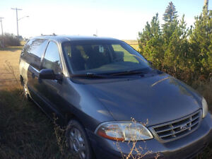 2001 Ford Windstar Minivan low kms *needs transmission*
