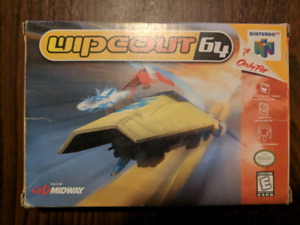 Wipeout 64 with box
