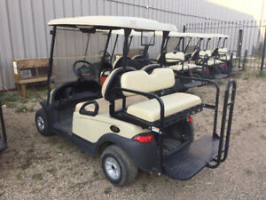 Club Car Electric 4 Passenger Golf Cars