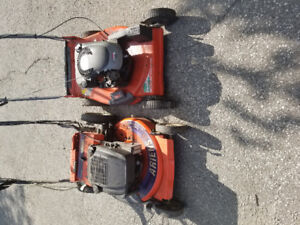 Two Lawn mowers for $60