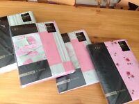 Matching curtains, 2 X duvet & pillowcase and 1 X valance