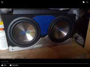 Alpine subs and amp
