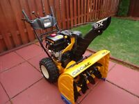 Snowblower 28'' Cub Cadet Excellent Cond. 2 Years old $800 OBO