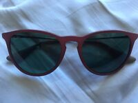 Erika Raybans with 12 month warranty