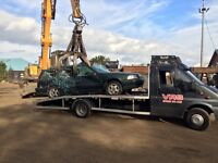 Scrap cars-mot failures-accident damaged wanted