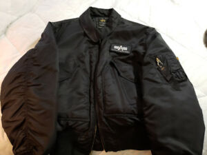 Men's flight/bomber jacket