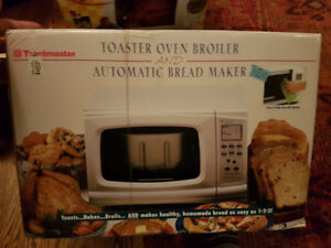 Combo Unit - Toaster Oven & Bread Maker