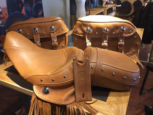 Looking for 2015 - 2017 Indian Chief Seat and saddle bags