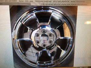 "GMC/Chevy factory 20"" wheels"