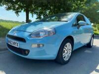 2013 Fiat Punto 1.4 8v (77bhp) Easy Brio Hatchback 3dr - ONE OWNER Hatchback PET