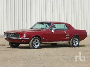 UNRESERVED PUBLIC AUCTION - SASKATOON - 1967 FORD MUSTANG