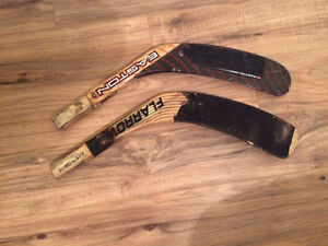 Hockey stick replacement blades (left)