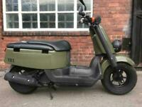 2009 JDM Yamaha Vox (Giggle 50) in army green
