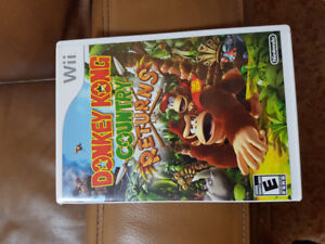 Mint Donkey Kong Country Returns Wii Game