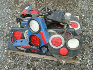 atten Truckers; pallet of new take off truck tail lights