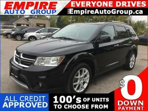 2015 DODGE JOURNEY R/T * AWD * LEATHER * TOUCH SCREEN * BLUETOOT