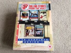 ROLLING STONES FROM THE VAULT DVD BOXSET