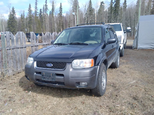2003 Ford Escape, well maintained.