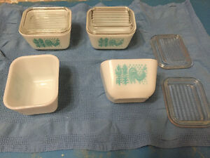 Pyrex Collectible dishes and lids