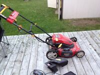 Electric Battery powered lawnmower