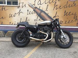 2008 Harley Davidson XL1200 Roadster Café Racer
