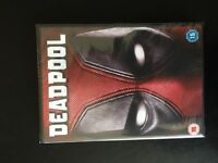 deadpool DVD still in plastic bought from sky buy and keep for £15 just delivered £7