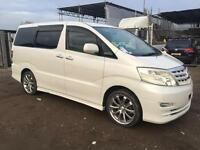 TOYOTA ALPHARD 2005 2.4 PETROL - AUTOMATIC - LOW MILEAGE - FRESH IMPORT
