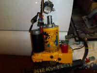 plow myers model E-47 pumps rebuilt 12volt hydrolic pumps