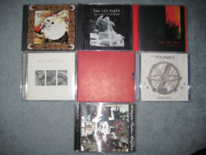 Tea Party Discography CD Collection, 7 CDs, mint condition