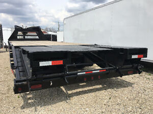 102x20 Plus 5 ft Beavertail Sure Trac Gooseneck Trailer Kitchener / Waterloo Kitchener Area image 3