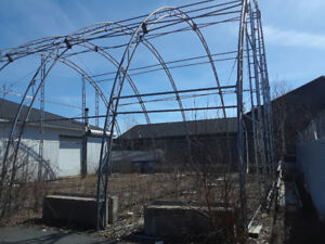 Reduced Price - Large Tarp Building Structure