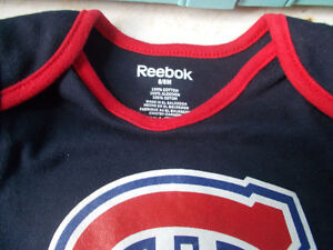 Montreal Canadiens Baby Diaper Shirt, Size 6/9 Months London Ontario image 2