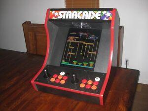 Arcade machine de comptoir...Joue 412 jeux Pac-Man Galaga etc
