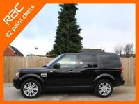 2012 Land Rover Discovery 3.0 SDV6 Turbo Diesel 255 BHP XS 4x4 4WD 6 Speed Auto